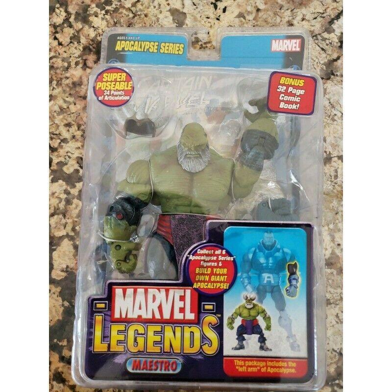 Marvel legends maestro hulk action figure toybiz 2005 apocalypse baf