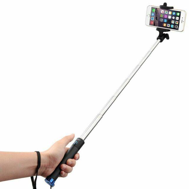 extendable selfie stick monopod remote bluetooth shutter
