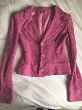 Emporio Armani Mujer Cintura Ajustada Blazer en color púrpura Rosa Glamour