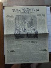 1964 Potomac Ed Fantasy Newspaper- Dec 1864- Mosby Wounded; Savannah captured;..