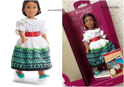 "American Girl Special Edition 6/"" MINI Doll JOSEFINA~Book~Stand~Feast Outfit"