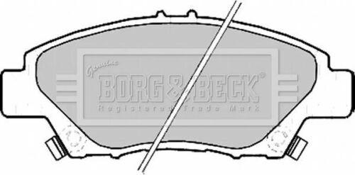 BORG BBP2207 Lot de plaquettes de frein DISQUE DE FREIN AVANT