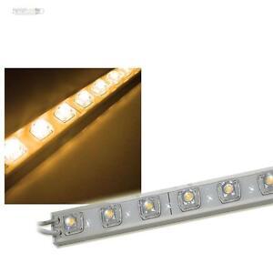 led sf lichtleiste strip 50cm warm wei wasserdicht ip65 unterbauleuchte 12 volt ebay. Black Bedroom Furniture Sets. Home Design Ideas