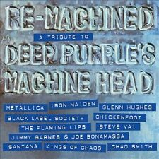 Re-Machined: A Tribute to Deep Purple's Machine Head CD IRON MAIDEN METALLICA