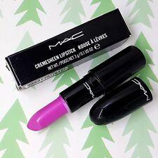 Authentic MAC Cremesheen Lipstick *OUTRAGEOUSLY FUN* Pink GLAMOUR DAZE Damaged