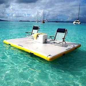 Inflatable Floating Dock Durable Lounge 6x 5 Activity