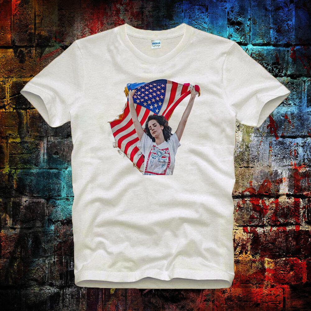 American Flag Lana Del Rey Tee Top Retro Vintage Unisex Ladies T Shirt B556 Ebay