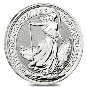 2020-Great-Britain-1-oz-Silver-Britannia-Coin-999-Fine-BU-IN-STOCK