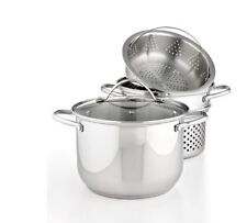 Wedgwood Everyday Cookware Multi Steamer Stainless Steel In