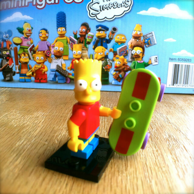 LEGO 71005 THE SIMPSONS Minifigures BART SIMPSON #2 SEALED Minifigs Series 1