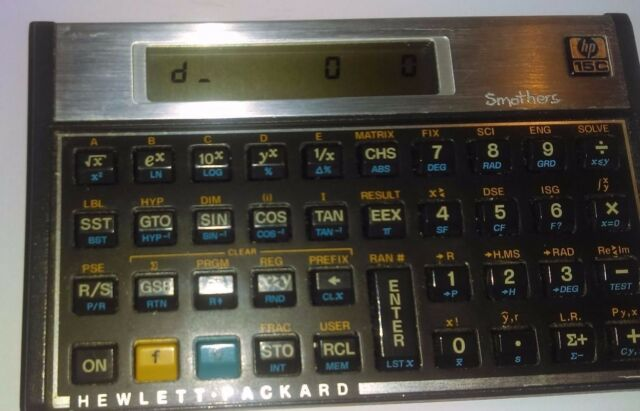 Hewlett-Packard HP 15C Scientific Calculator