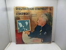 SHOSTAKOVICH SYMPHONY NO 5 LEOPID STOKOWSKI CONDUCTING OP 47 T281  LP  VINYL