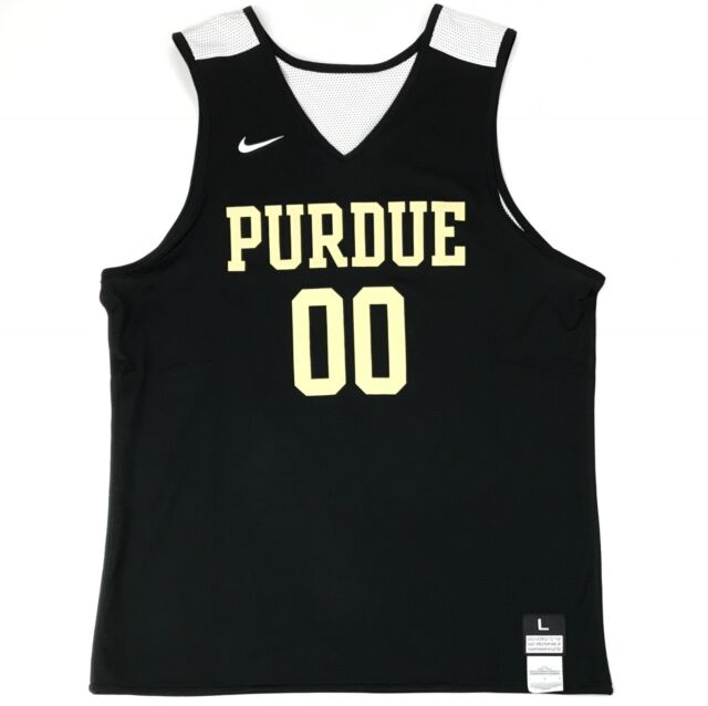 best sneakers e008c f3e4a Nike Purdue Boilermakers Men's L Basketball Reversible Practice Jersey