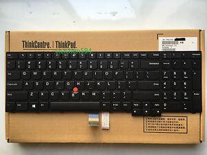 Details about New Lenovo ThinkPad E570 E575 US Keyboard 01AX200 01AX160  01AX120 SN5357