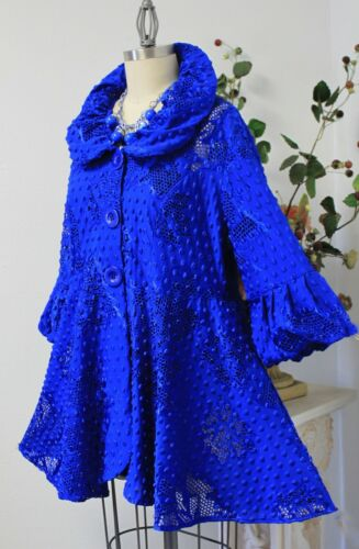 Chic and Dressy Jacket for any season.Plus Size Artsy New Designer Gorgeous