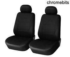vorne schwarz Stoff Sitzbezüge 1+1 für Opel Opel Combo Vivaro Movano