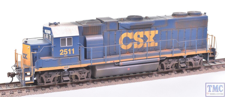 61119 Bachmann HO (US Outline) GP38-2 Diesel CSX¬  2511 Deluxe Weathering