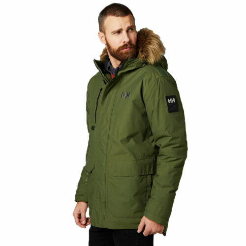 Helly Hansen Mens Svalbard Waterproof 3//4 Length Parka Jacket 28/% OFF RRP