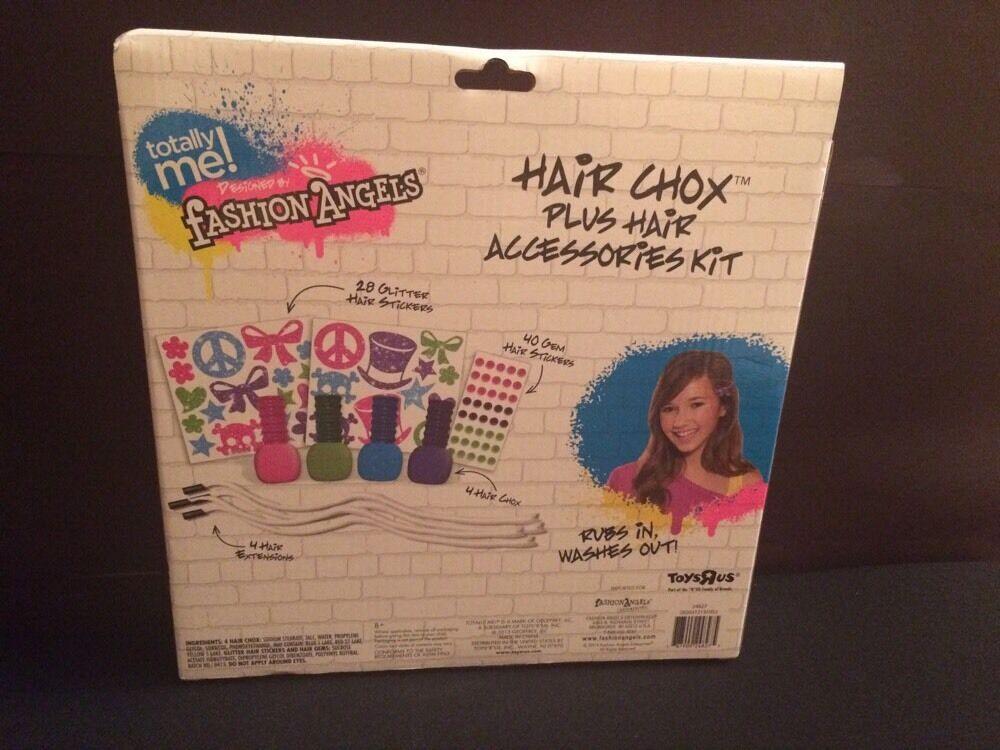 Totally Me Fashion Angels Hair Chox Plus Accessories Kit Toys R Us