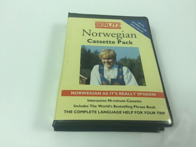 Berlitz Norwegian Cassette Pack With Interactive Dialogues