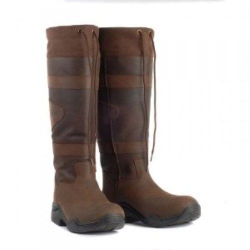 c9cdad29a Toggi Canyon waterproof long country boots leather brown walking, casual,  riding