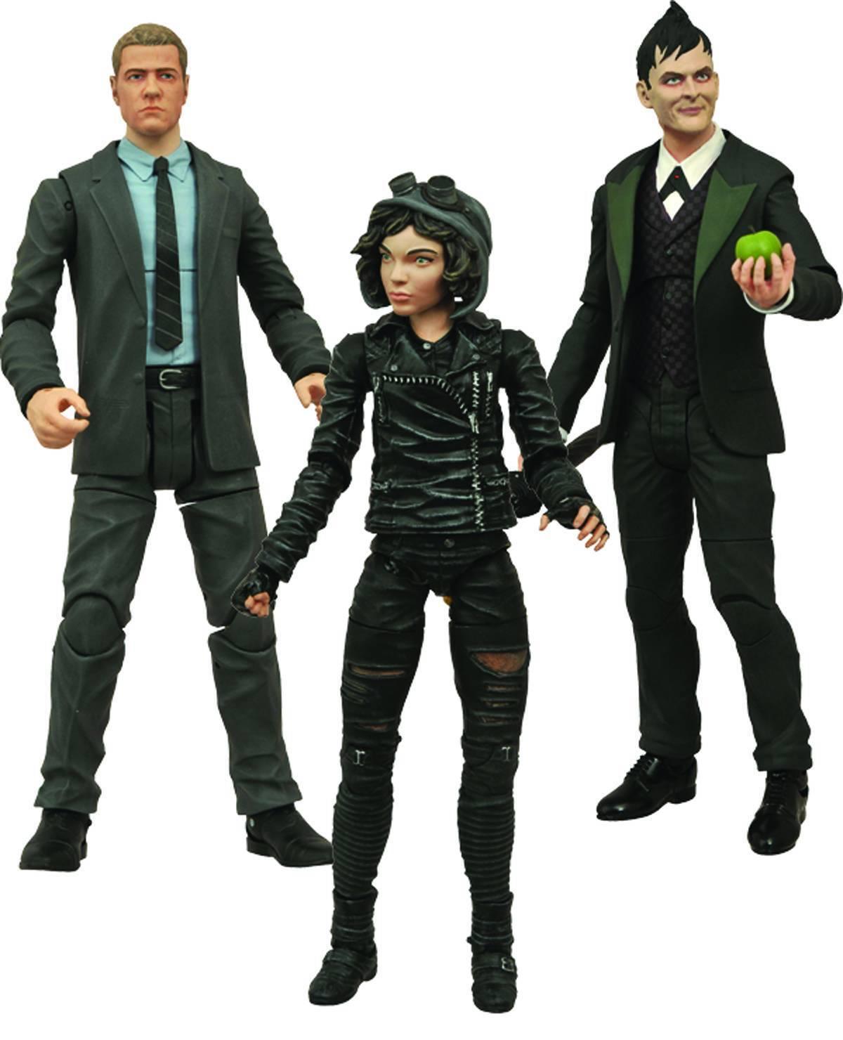 Diamond Sélectionner Gotham Series 1  Set Figure  Jim Gordon  Selena  Pingouin  CW TV  grande vente