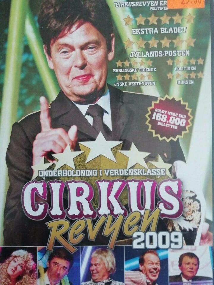 Cirkus revyen diverse , DVD, komedie