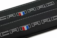 CHEVROLET CAMARO Leather Car Seat Belt Shoulder Pads Covers Cushion 2pcs