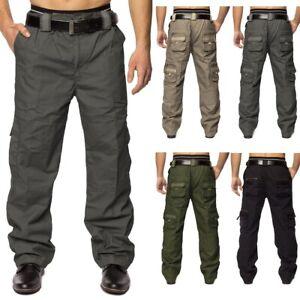 Pantalon-cargo-Jeans-Loose-Fit-pantalons-chino-Pantalon-cargo-travail-Pantalon-M