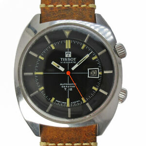 TISSOT T.12 Argentina Air Force 44518-3 Automatic Vintage Watch 1970's