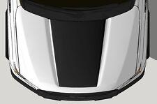 Vinyl Decal Wrap Kit fits 2015-2017 Ford F-150 Hood Graphic BLACKOUT Matte Black