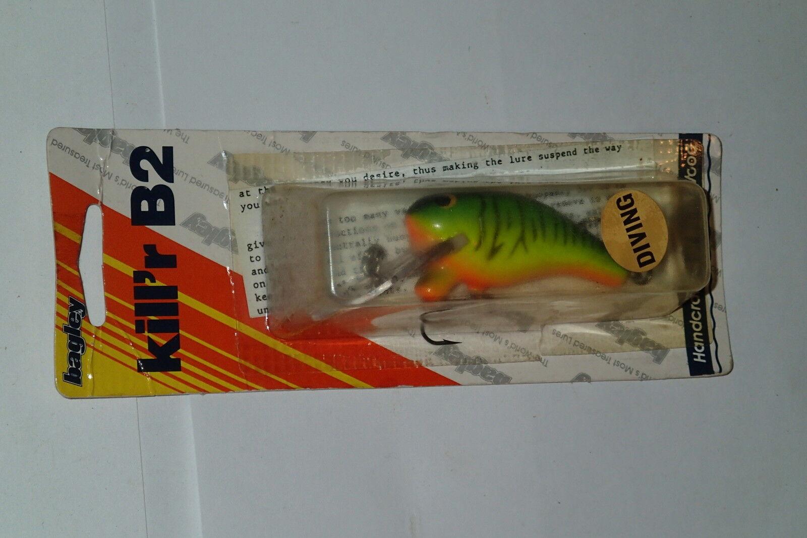 Bagley DKB2 suspender H69T Hot Tiger Buceo Killer B 2 Pesca Señuelos