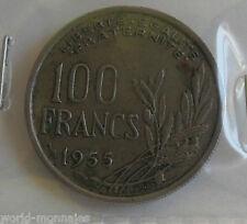 100 francs cochet 1955 : TB : pièce de monnaie française