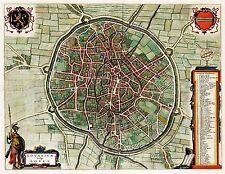 MAP ANTIQUE BLAEU SCOTLAND 1654 ANNANDALE OLD LARGE REPLICA POSTER PRINT PAM0584