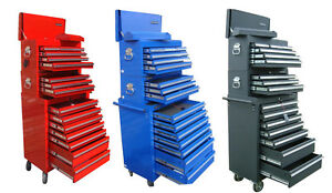US-Pro-Tools-Tool-Chest-Box-roll-cabinet-toolbox-heavyduty-FINANCE-AVAILABLE-3pc
