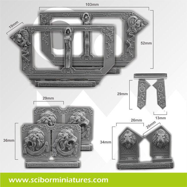 Lion Big Conversion set  - Scibor Miniatures