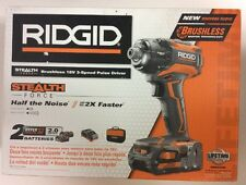 Ridgid R86036 18V 3-Speed Pulse Driver Kit