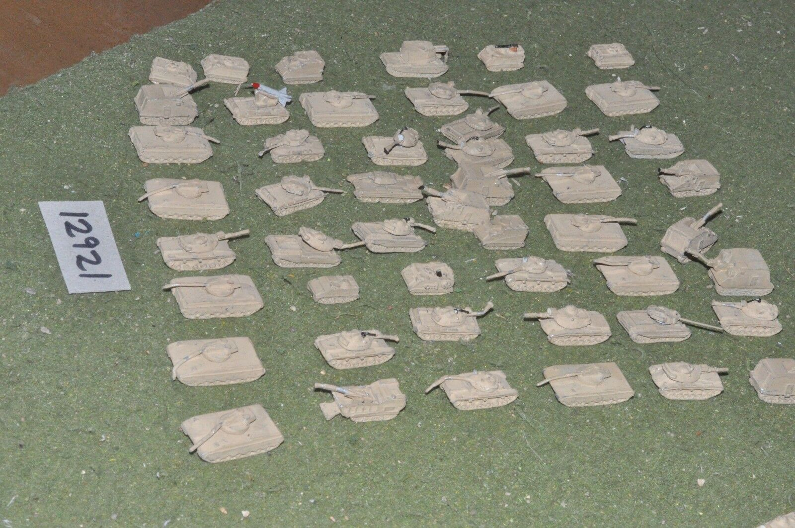 6mm modern   arab & israeli - war  50 - vehicles (12921)