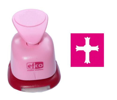 1 MOTIF-Perforateur M-L Sélection Motif Perforateur EFCO Punch Communion Mariage croix 119