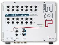 Audiocontrol Eql (white) 2 Channel Pre Amp 13 Band Equalizer With Level Matching
