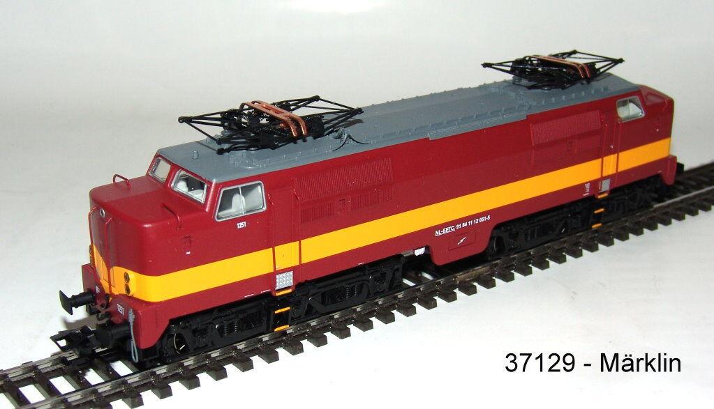 Märklin 37129 E-Lok Serie 1200 Der Eetc Mfx Decoder Sound Metallo # Nuovo in