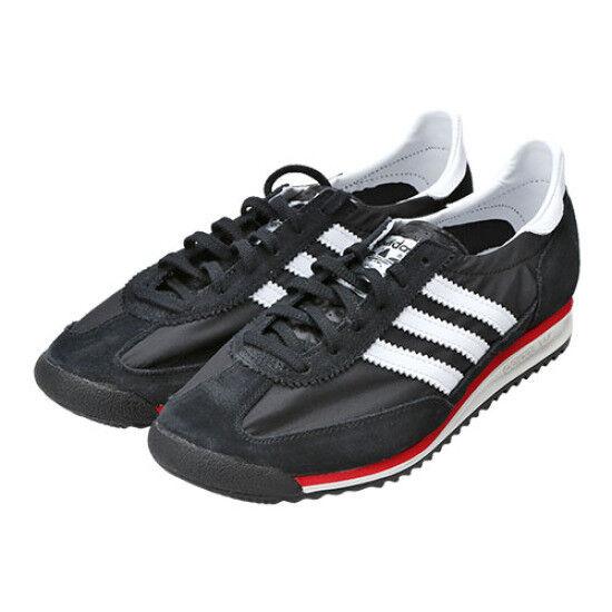 Adidas Originals Men's Women's SL72 Running shoes Black Black Black Size 4-12 S78997 3cacc3