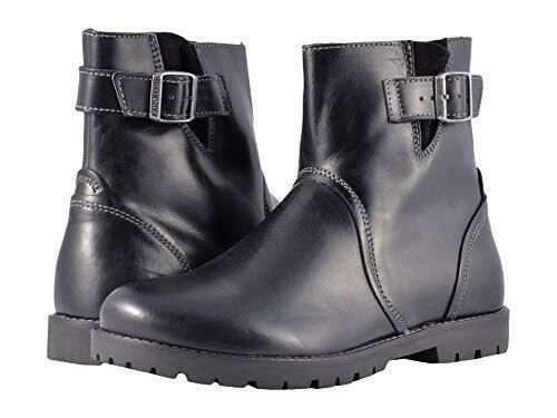 Birkenstock Stowe (Women's) | Boots, Black leather boots