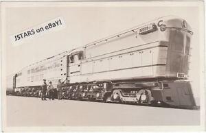 c-1947-C-amp-O-RAILROAD-TRAIN-LOCOMOTIVE-500-POSTCARD-RPPC