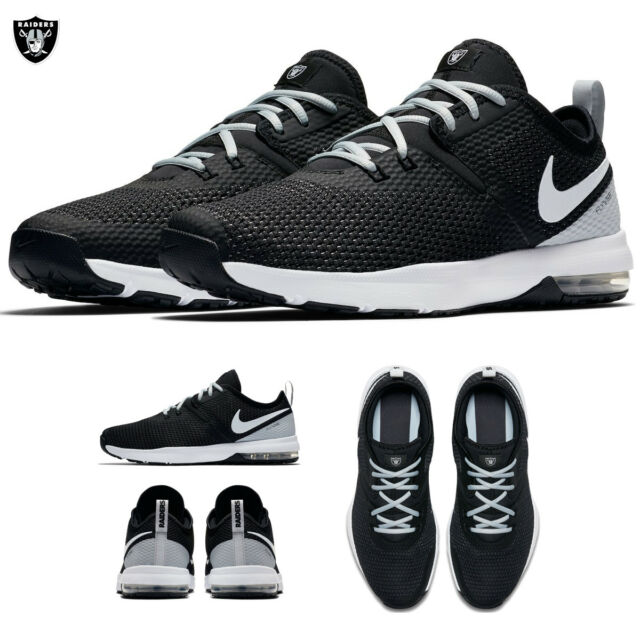 new arrival 01ea1 b5ca6 Oakland Raiders Nike Air Max Typha 2 Shoes NFL 2018 Limited Edition NWT  Footwear