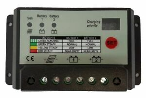 20a-20-amp-DUAL-BATTERY-SOLAR-CHARGE-CONTROLLER-REGULATOR-MOTORHOME-CAMPER-t4-t5