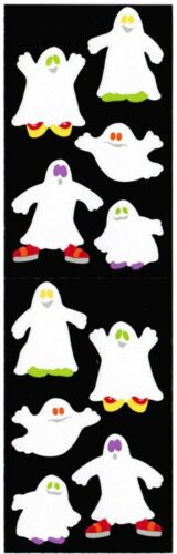 Mrs Grossman/'s Halloween GHOST Fun Scrapbook Stickers 3 Strips