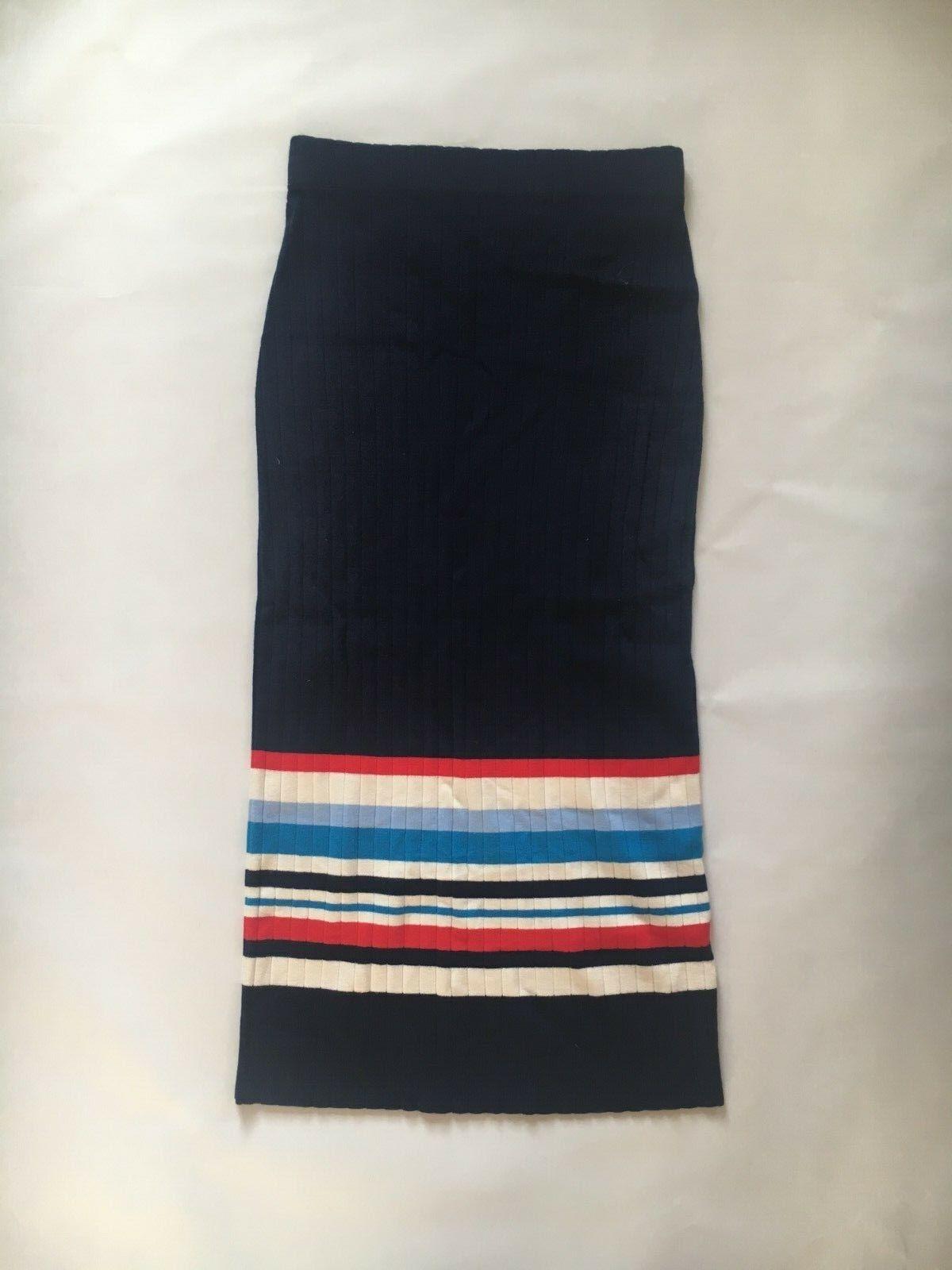Lauren Ralph Lauren Skirt Size S Women Sweater Long Skirt Navy Birthday Gift