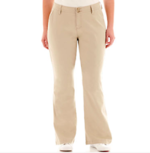 1354bcebd99 Image is loading NWT-Boot-cut-WMS-Pants-Sz-22-20-
