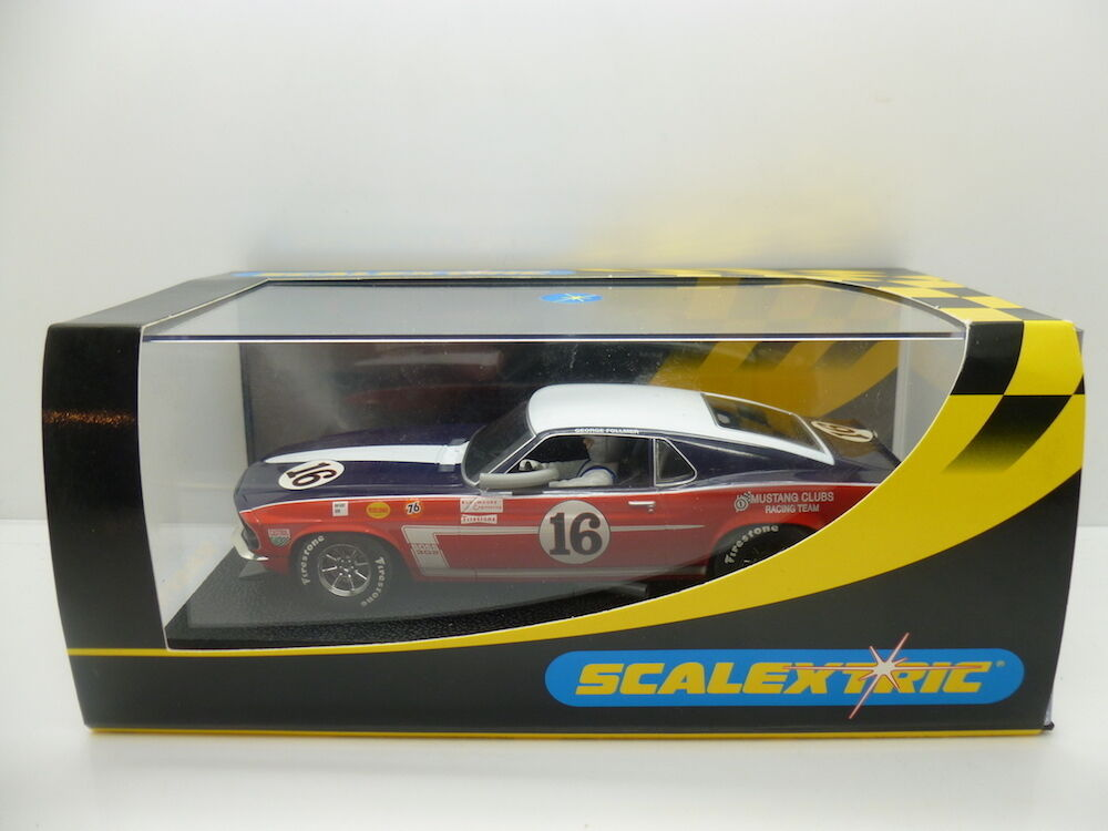 Scalextric C2402 Ford Mustang 69 No16, mint boxed used once
